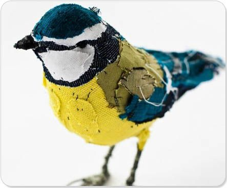 Abigail Brown textile art...feeds the avian obsession...