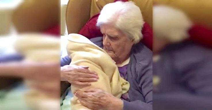 Grandma With Dementia Has Tear-Jerking Experience During 'Doll Therapy' via LittleThings.com