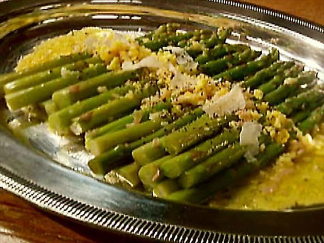 Get Asparagus with Orange Sauce Recipe from Cooking Channel