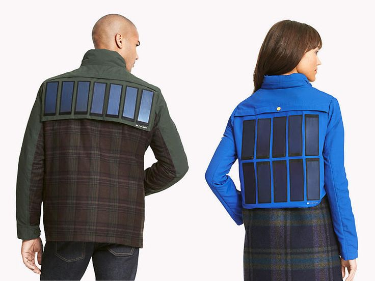 The clothing label has developed a range of clothing embedded with solar panels so that you always have backup power for your devices. [Solar Panels: http://futuristicshop.com/category/solar_power/ Future Energy: http://futuristicnews.com/category/future-energy/]