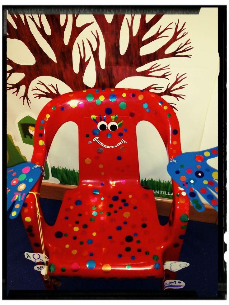 """¿Conoces la SILLA DE PENSAR ? Esta silla tiene la función de """" sancionar """" cuando un niñ@ incumple las normas obligándole a llevar a c..."""