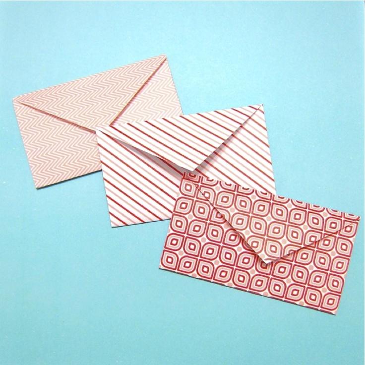 Forty Weeks: Crafts/DIY: Heart Envelopes