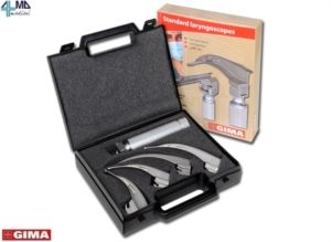 GIMA LARINGOSCOPIO SET 4 LAME: LAME MC-INTOSH 1-2-3-4 IN OFFERTA A 86,49€