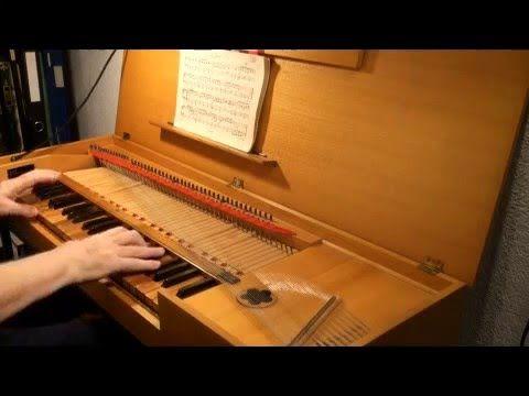 Léopold MOZART: 3 pièces du Notenbuch für Wolfgang. Au Clavicorde: C.A. ...