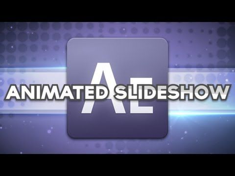 Adobe After Effects CS6 - Creative Slideshow Tutorial!
