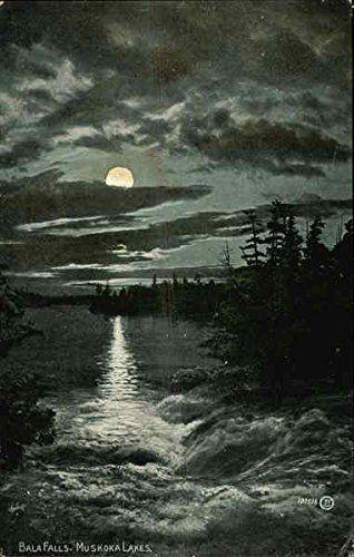 Bala Falls, Muskoka, Ontario; Vintage Postcard