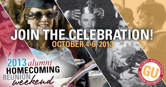 Gannon University - Alumni Homecoming Reunion Weekend 2013