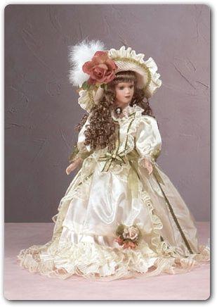 DOLLS ~ Collectible Porcelain Dolls, Fashion Dolls, Victorian Dolls, Cinderella, Wedding Dresses- Enchanting collectible dolls,Anastasia Doll Collection,Fancy Dolls,Porcelain China Doll