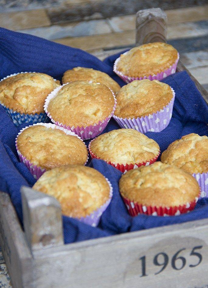 Appel-citroen cupcakes