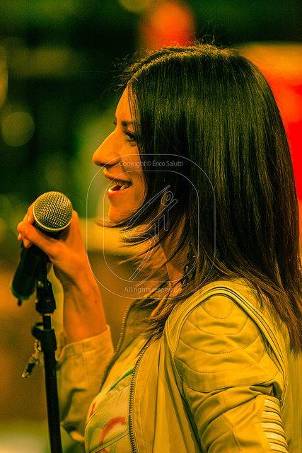 Italian singer Laura Pausini. São Paulo, SP, Brazil. Photo: Érico Salutti, 2005.
