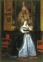 Baronne Nathaniel de Rothschild. Un exemple d'art pompier.