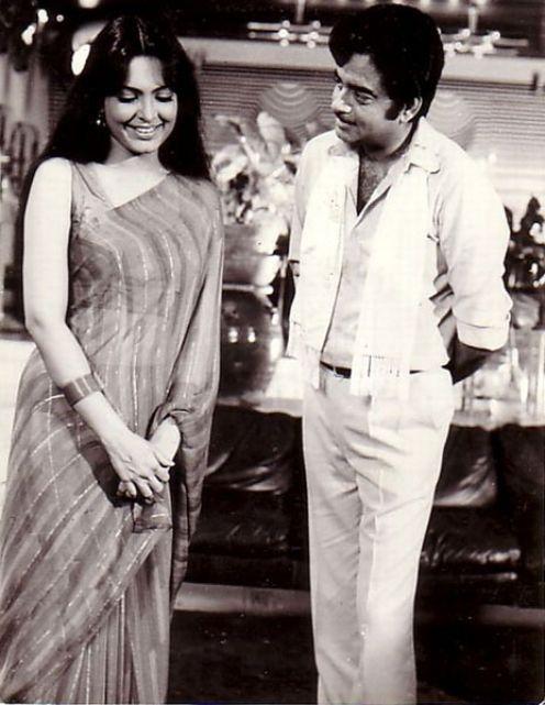 Parveen+Babi+and+Shatrughan+Sinha+-+c1970's