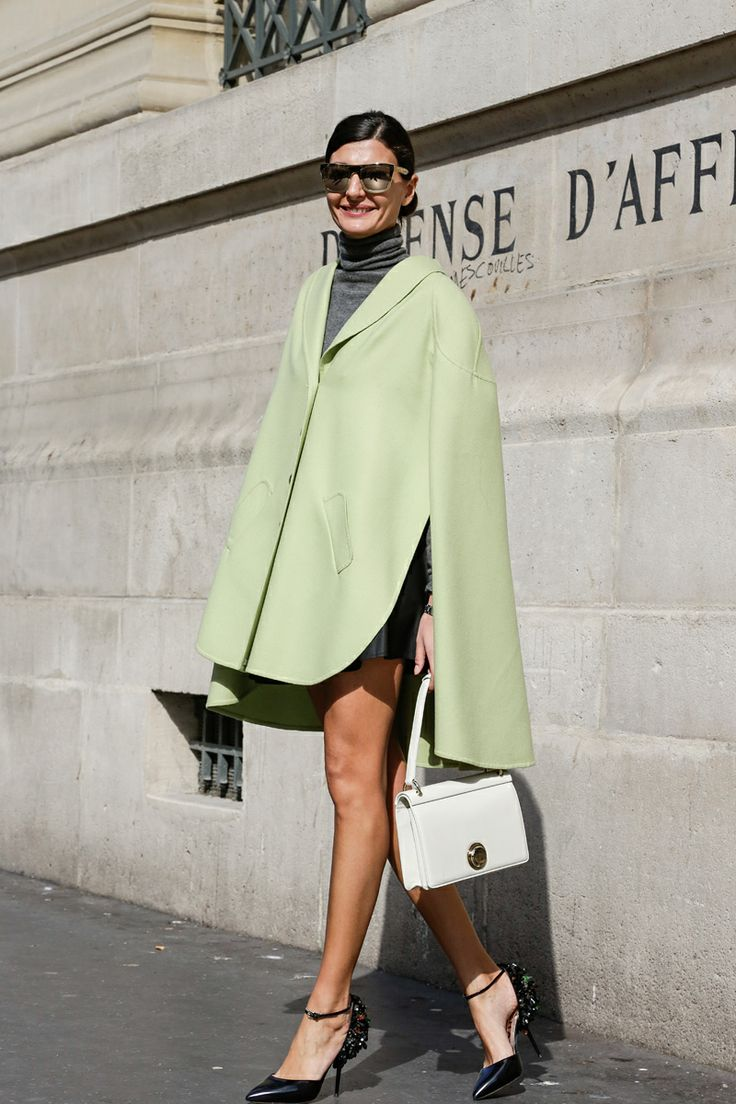 Street Style, Paris: 21 shots from outside the last day of fashion week - Giovanna Battaglia