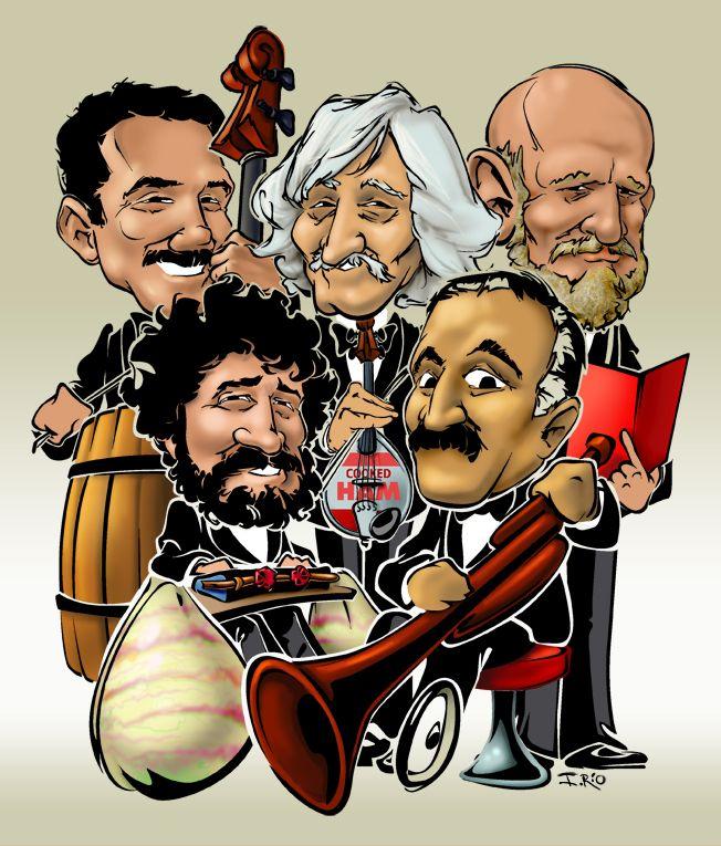 Les Luthiers hace un homenaje a Johann Sebastian Mastropiero y celebra sus 40 años de trayectoria (2007)