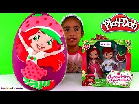 Huevo Sorpresa Gigante de Blancanieves de Plastilina Play Doh - Frozen My Little Pony Bob Esponja - YouTube
