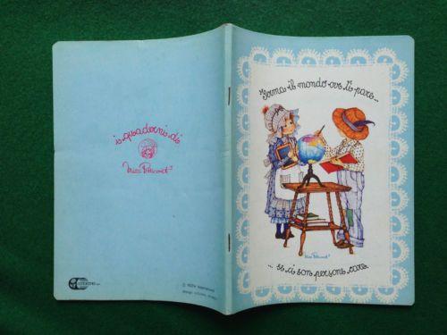 MISS-PETTICOAT-Quaderno-scuola-vintage-A5-righe-Cartorama-Anni-70-80-copybook