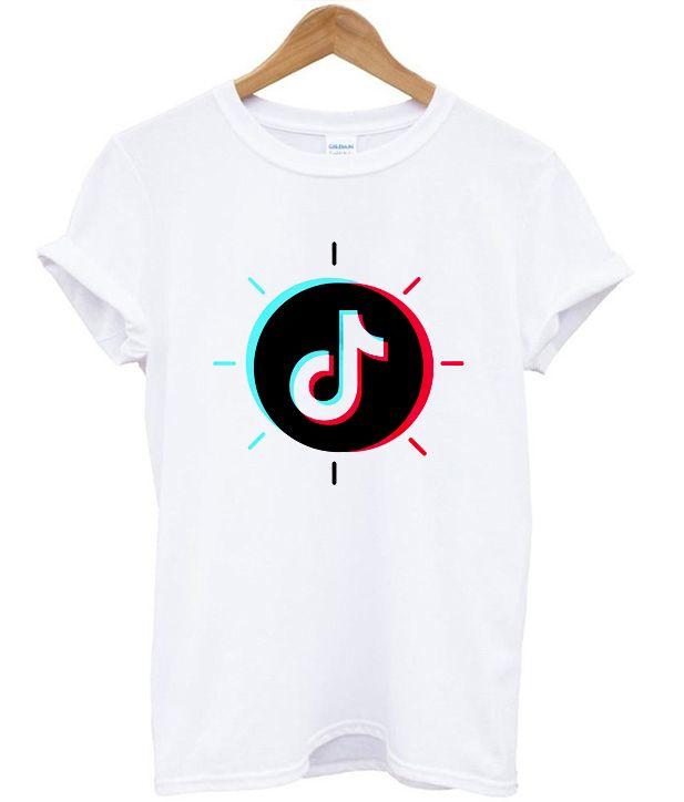 Tik Tok Circle T Shirt Shirts Print Clothes T Shirt