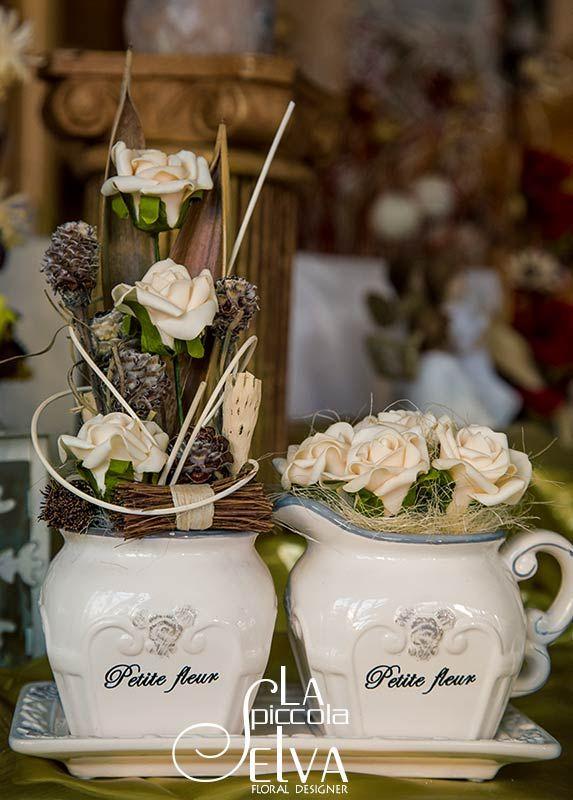 Winter Collection 2013-2014 Composizioni con fiori secchi e di seta