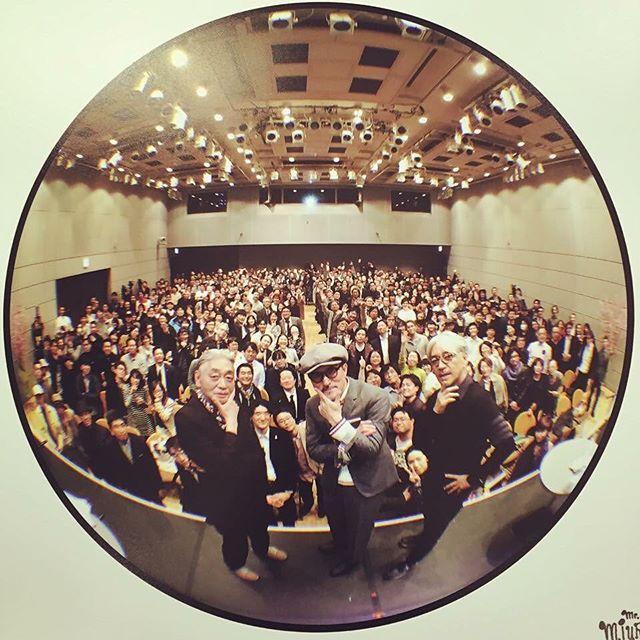 後ろのどこかにいます I was there. #ymo #yellowmagicorchestra #yukihirotakahashi #ryuichisakamoto #hosonoharuomi #commmons10