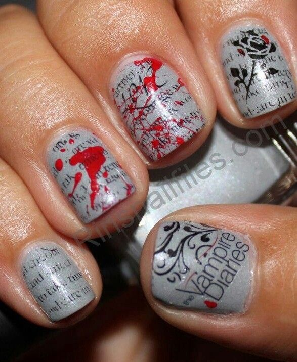Vampire Diaries Nail Art: 25+ Best Ideas About Vampire Diaries Makeup On Pinterest