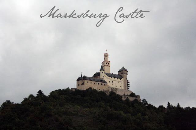 Marksburg Castle on the Rhine - The Tipsy Terrier blog #travel #blog