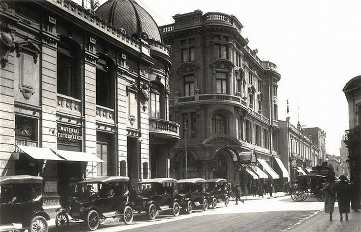 Calle Ahumada con Agustinas 1920