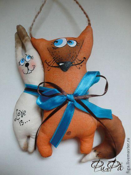 """Ароматизированные куклы ручной работы. Ярмарка Мастеров - ручная работа Интерьерная игрушка """"Любовь это..."""". Handmade."""