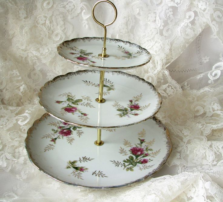 Cake stand Wedding decor Shabby decor Japan cake stand Japanese porcelain plates 3 tier cake stand Roses cake stand High Tea Plate Tea party by OldVintageStuffGoods on Etsy https://www.etsy.com/uk/listing/508103110/cake-stand-wedding-decor-shabby-decor