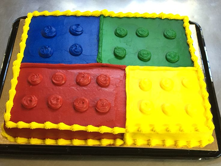 Lego Birthday cake at Naegelin's Bakery