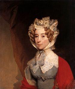 Louisa Catherine Johnson Adams   wife of John Quincy Adams