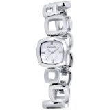 Fossil Women's ES1869 Core Square Link Stainless Steel Silver Dial Watch (Watch)By Fossil