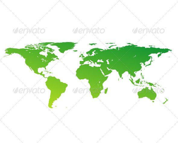 206 best Vectors images on Pinterest Graphic design illustration - copy world map vector graphic