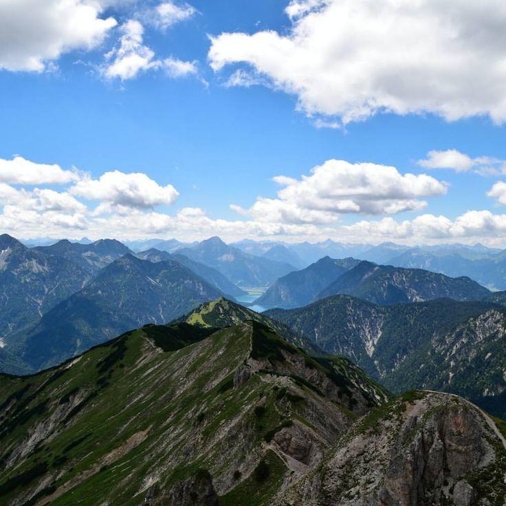 Schellschlicht, Ammergauer Alpen, Bavaria, Germany ~ Sometimes I wonder if the #mountains miss me too. Manchmal frage ich mich, ob die #Berge mich auch vermissen. #schellschlicht #2053m #ammergaueralpen #werdenfelserland #wettersteingebirge