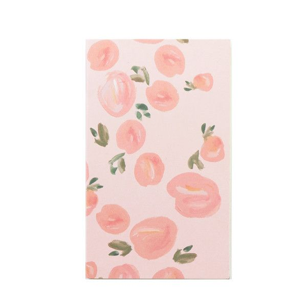 Persikka notepad  #notepad #peach