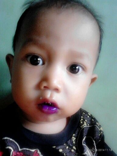 Blueberry lips