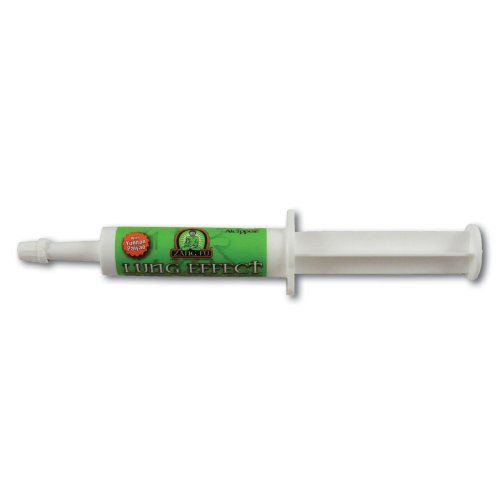 LUNG EFFECT PASTE - SINGLE DOSE TUBE by Zang Fu Equine. $14.95. Lung Effect Paste contains a highly concentrated and potent blend of Chinese herbs Yunnan Paiyao, Giant Puffball & Urn Orchid to help your horse with the treatment of conditions that can lead to exercise induced bleeding.    Lung Effect Paste can be used effectively for horses on Lasix.  Orally administer one single dose tube per horse 4-6 hours prior to event.
