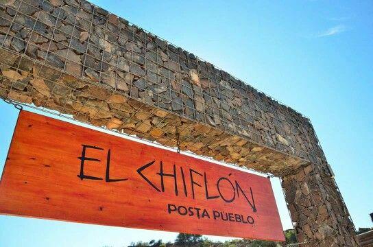 El Chiflón Posta Pueblo. La Rioja. Argentina.