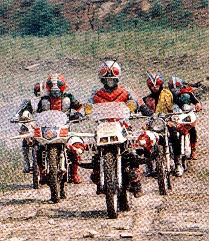 Kamen Riders!