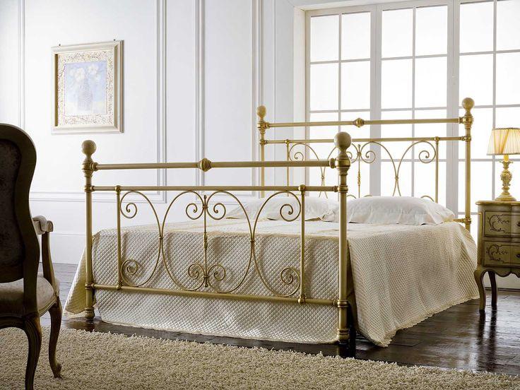 Englisches Bett MIMOSA. Elegantes Design aus Schmiedeeisen für Ihr Schlafzimmer.