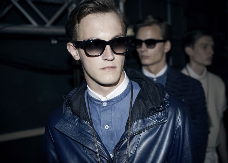 Backstage at #CanaliSS16 show #MFW #MFWSS16 #suit