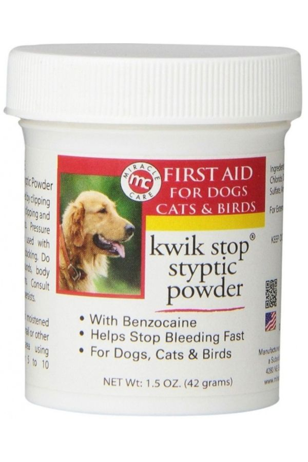 Gimborn Kwik Stop Styptic Powder 1 5 Ounce Pet Supplies Plus