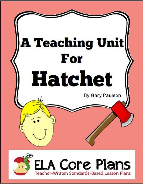 best teaching hatchet images literature  teaching unit hatchet
