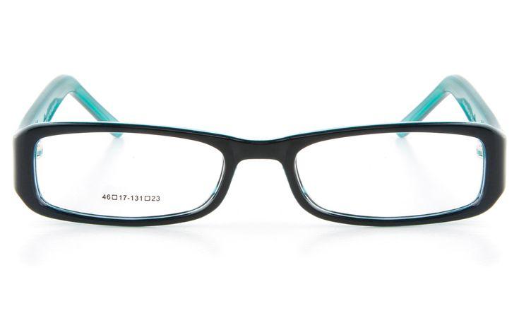 Nova Kids Pro5 Propionate Square Full Rim Kids Glasses - Frame Lens Package for Fashion,Classic (Green)