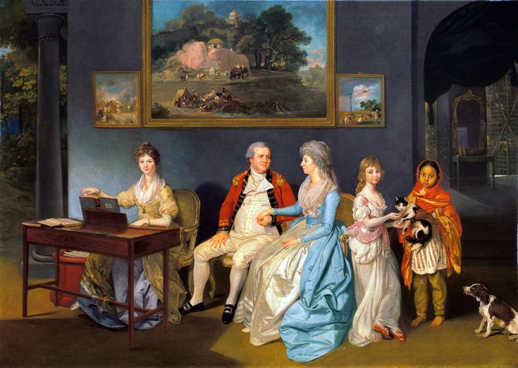"""""""The Blair Family"""" (1786-87) by Johan Zoffany"""