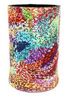 Utopia Can Cooler Fire Sparks Janelle Stockman Code:  COOL-UC/JS-FS   Price:  $9.00 or 3 for $25.00