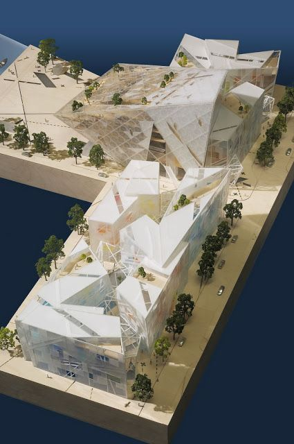 Grand Canal Square Theatre and Commercial Development : By Daniel Libeskind