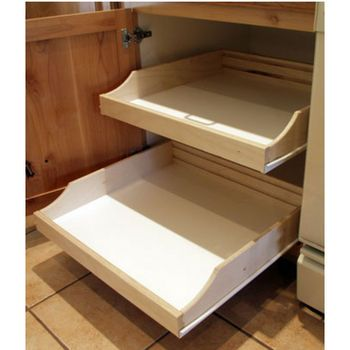Cookware Organizers - Pot & Pan Organizers & Bakeware Organizers for Kitchen Cabinets at Cabinet Accessories Unlimited