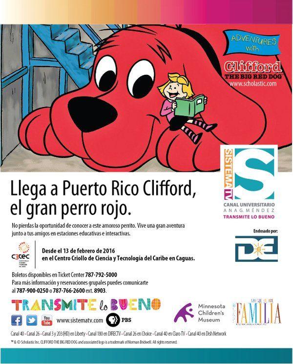 Clifford El Gran Perro Rojo #sondeaquipr #clifford #c3tec #caguas #paralosninos