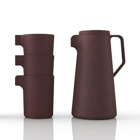 Silt tea set by VW+BS