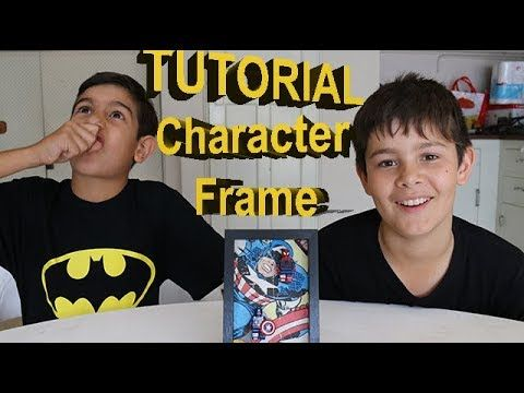 DIY LEGO Super Hero Picture Frame - The Garage Tv - YouTube